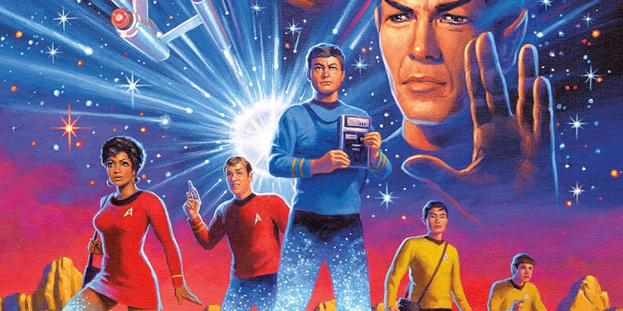 IDW Heads Back to Classic STAR TREK With YEAR FIVE via TrekCore Blog