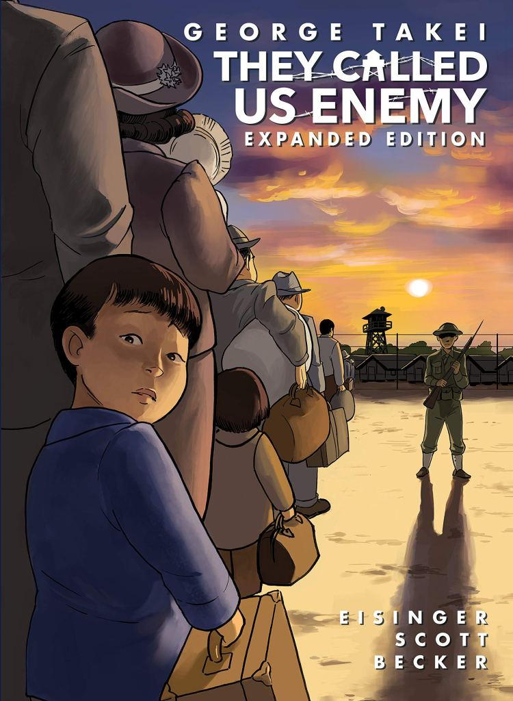 81up9TuUchL 750x1024 They Called Us Enemy: Expanded Edition Announced