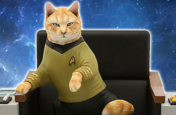 New Statues of the STAR TREK CATS Crew Coming in 2019