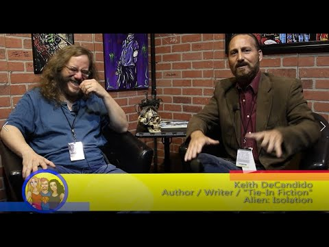 Licensed To Write Expanding Universes! Author Keith DeCandido interview on the Hangin With Web Show