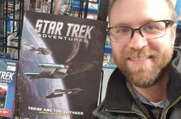 """Fred Love on Continuingmissionsta.com discussing """"Star Trek Adventures"""""""