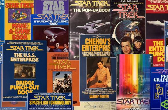 StarTrek.com: 40 years of Star Trek publishing at Simon & Schuster!