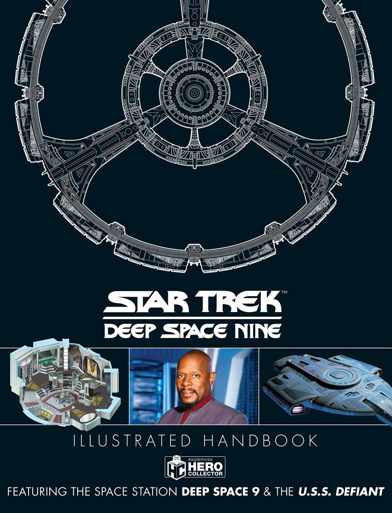 Out Today: Star Trek: Deep Space Nine Illustrated Handbook: Featuring the Space Station Deep Space Nine and the U.S.S. Defiant