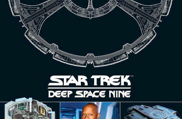 """Star Trek: Deep Space Nine Illustrated Handbook: Featuring the Space Station Deep Space Nine and the U.S.S. Defiant"" Review by Treksphere.com"