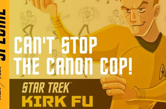 KIRK FU MANUAL – A closer look with the Canon Cop
