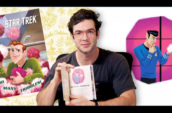 WATCH: Ethan Peck Reads Too Many Tribbles