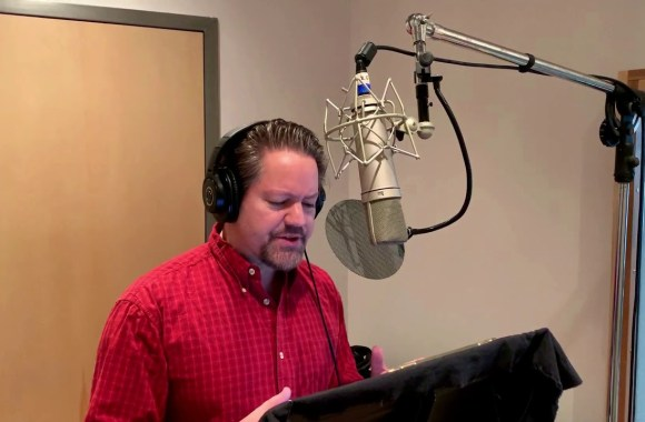 Robert Petkoff reads a studio excerpt of UNSETTLING STARS