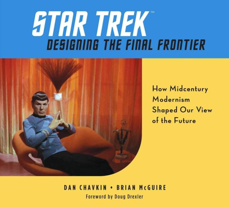 Weldon Owen Star Trek Designing the Final Frontier cover 1024x927 Star Trek: Designing the Final Frontier — The Untold Story of How Midcentury Modern Decor Shaped Our View of the Future Review by Borg.com