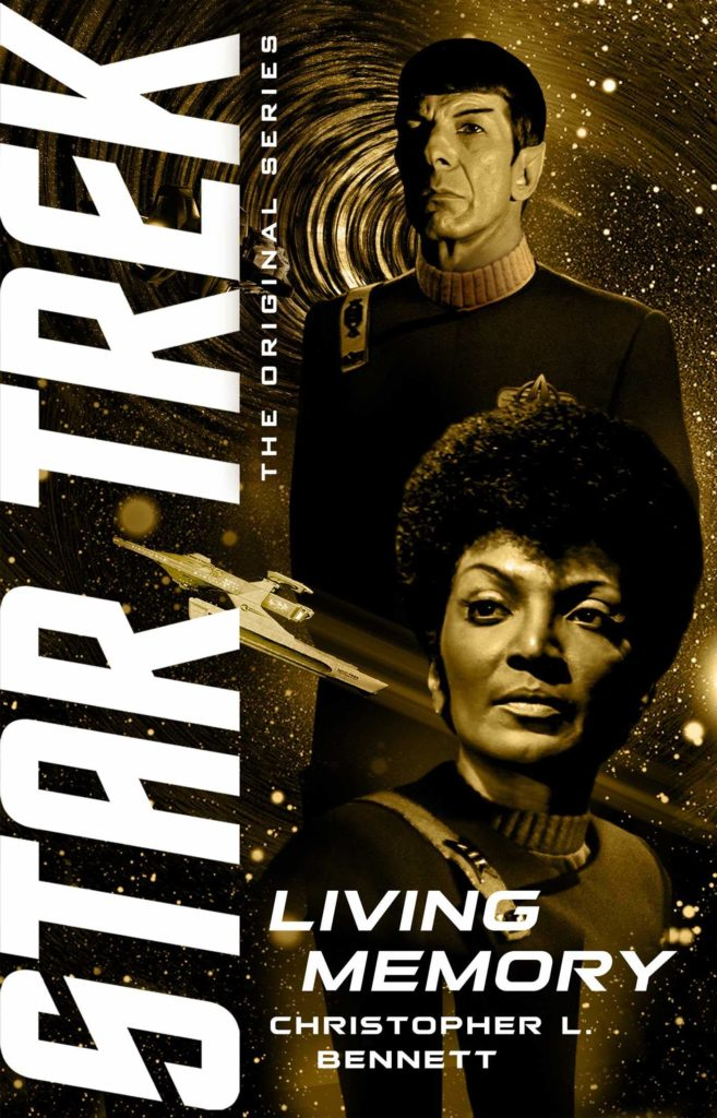 tos living memory cover 657x1024 Star Trek: The Original Series: Living Memory Review by Trekmovie.com