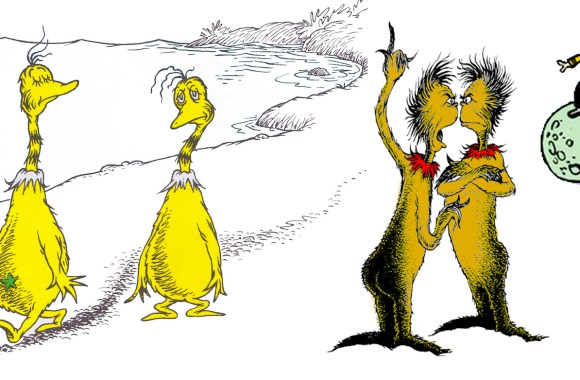 Bombshell in the Star Trek/Dr. Seuss MASH-UP infringement lawsuit: are SNEETCHES and ZAKS in the PUBLIC DOMAIN???