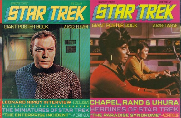 Tuesday Trekkin': the Star Trek Giant Poster Books.