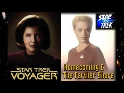 Star Trek Voyager Homecoming & Farther Shore by Christie Golden Book Review & Discussion