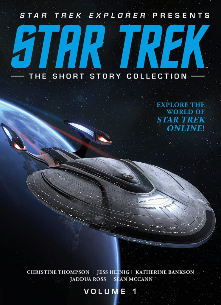 Star Trek Explorer presents Star Trek The Short Story Collection Volume 1 742x1024 New Book Added: Star Trek Explorer Fiction Collection Vol.1