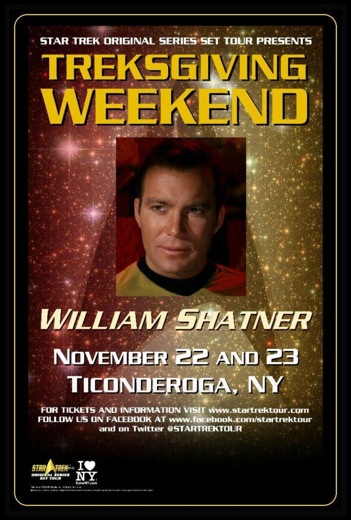 Treksgiving Weekend Poster