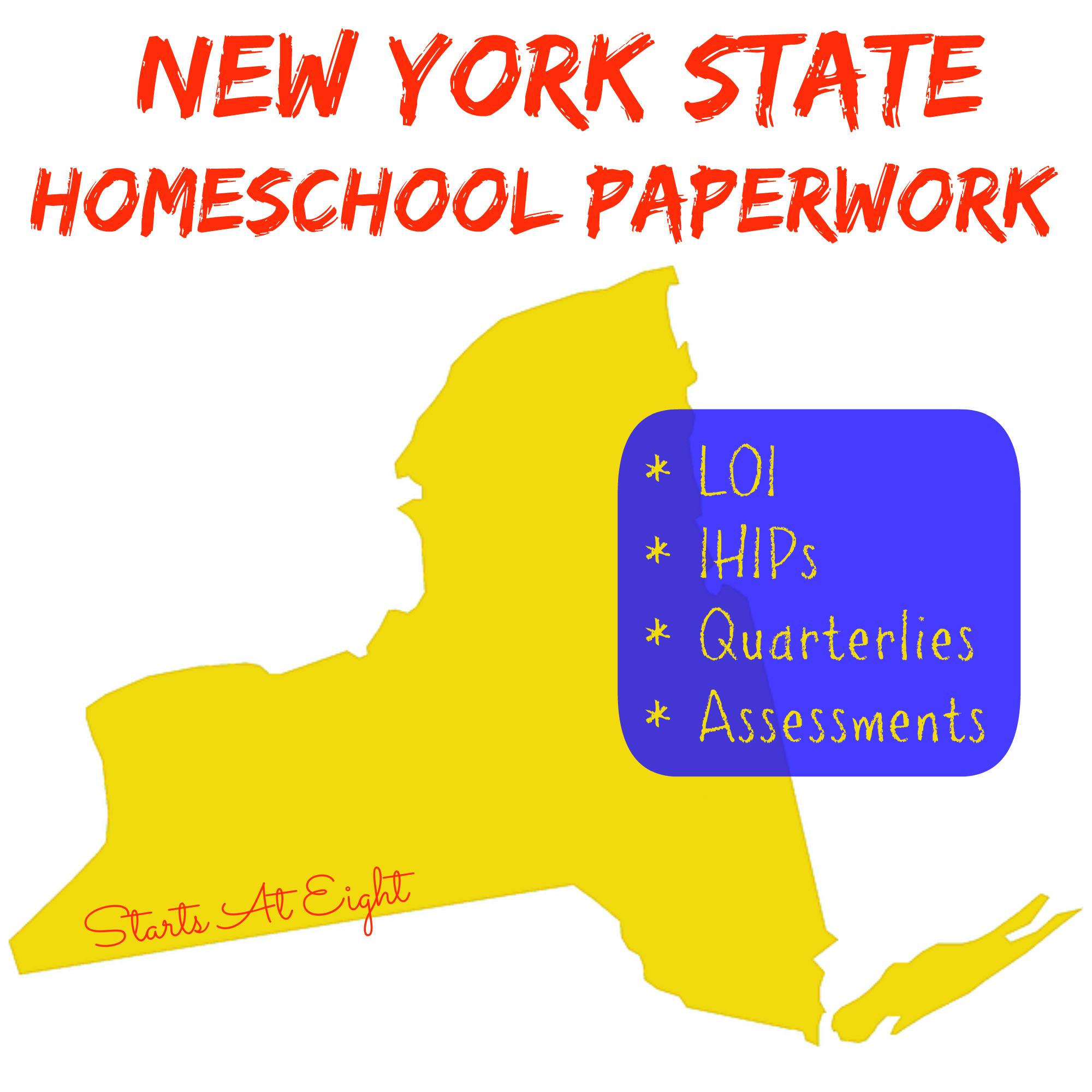 hight resolution of New York State Homeschool Paperwork - StartsAtEight