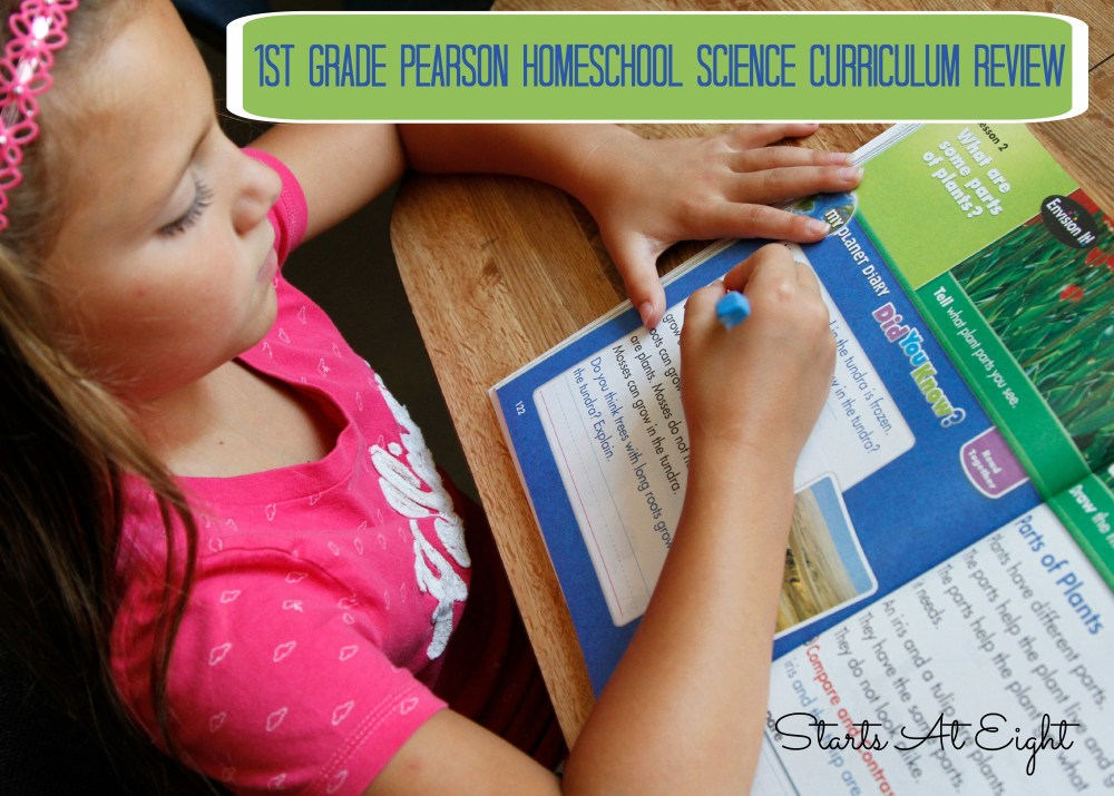 medium resolution of 1st Grade Pearson Homeschool Science Curriculum Review - StartsAtEight