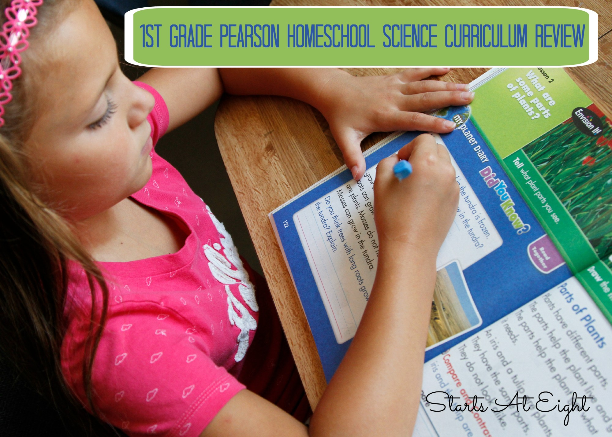 hight resolution of 1st Grade Pearson Homeschool Science Curriculum Review - StartsAtEight