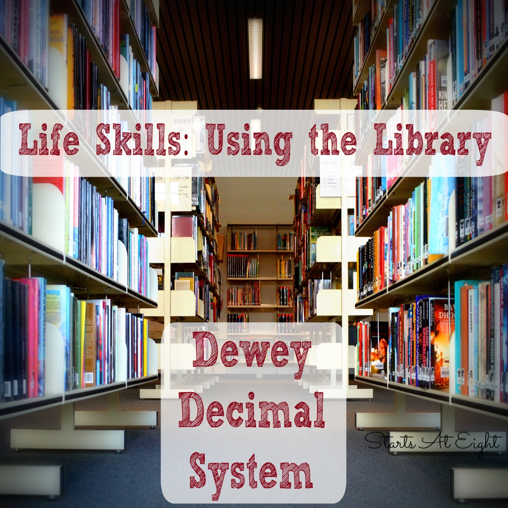 hight resolution of Life Skills: Using The Library - Dewey Decimal System - StartsAtEight