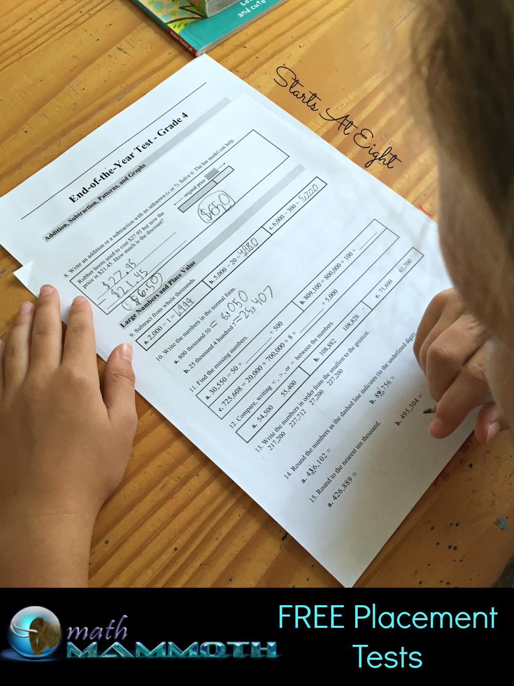 hight resolution of Math Mammoth Elementary Homeschool Math Curriculum - StartsAtEight
