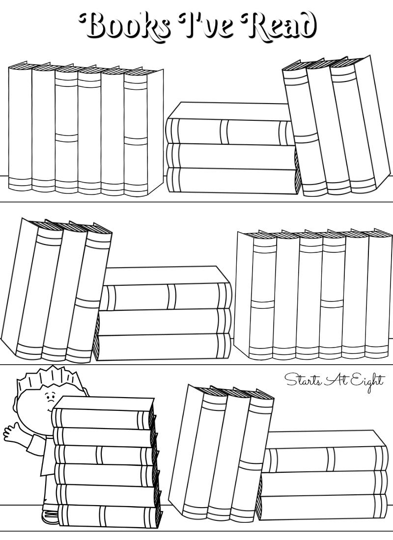 medium resolution of FREE Printable Reading Logs ~ Full Sized or Adjustable for Your Bullet  Journal - StartsAtEight