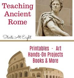 Homeschool Resources for Teaching Ancient Rome - StartsAtEight [ 1200 x 800 Pixel ]