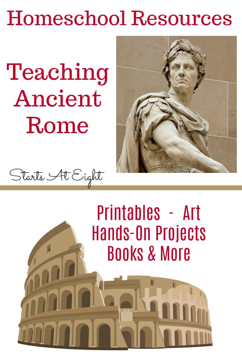 medium resolution of Homeschool Resources for Teaching Ancient Rome - StartsAtEight