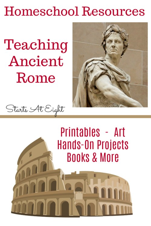 small resolution of Homeschool Resources for Teaching Ancient Rome - StartsAtEight