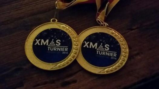 Goldmedaille im Doppel