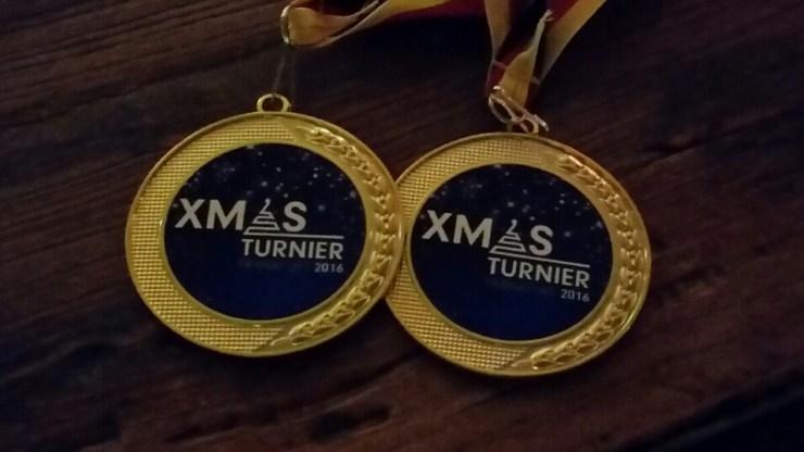 Archiv - Turniere - FFM-XMAS-Turnier 2016 - Goldmedaille im Doppel Senator A
