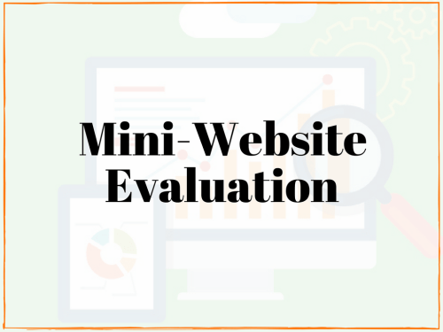 website evaluation test my website local website review
