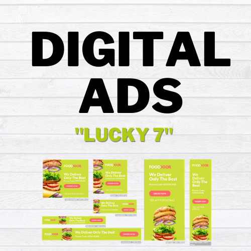 get buy digital ads lucky 7 product