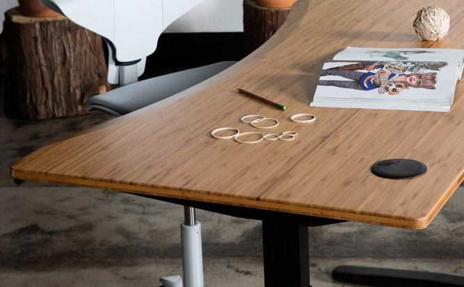 Jarvis Desk - Bamboo Table Top