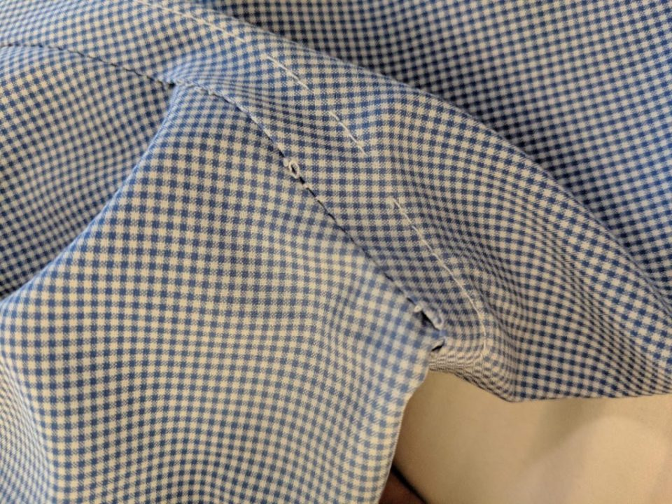 Armpit Seam  - State and Liberty Shirt Review
