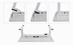 Flexispot Sanodesk Standing Desk Easy of Assembly Illustration