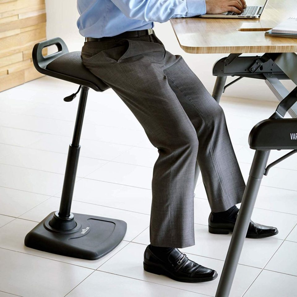 Stupendous The Best Chairs Stools For Standing Desks Start Standing Dailytribune Chair Design For Home Dailytribuneorg