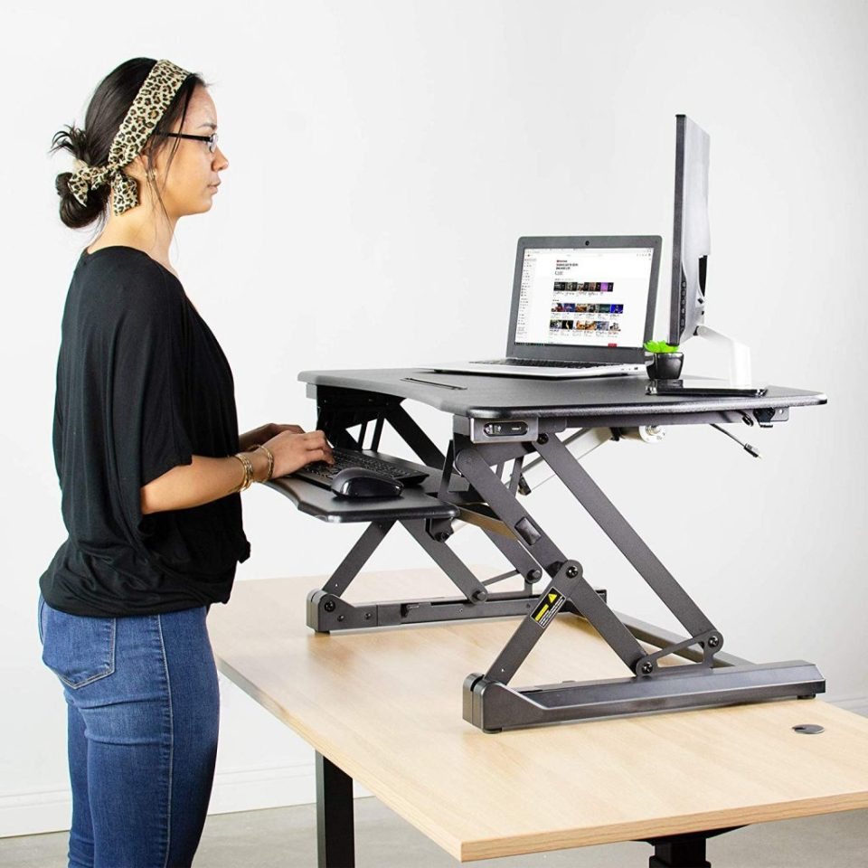 Vivo Electric Converter - Best Standing Desk Converters