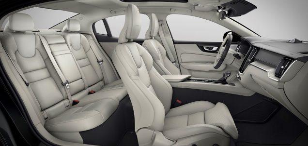 S60 seats