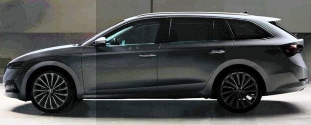 Škoda Octavia Combi Zdroj: Facebook