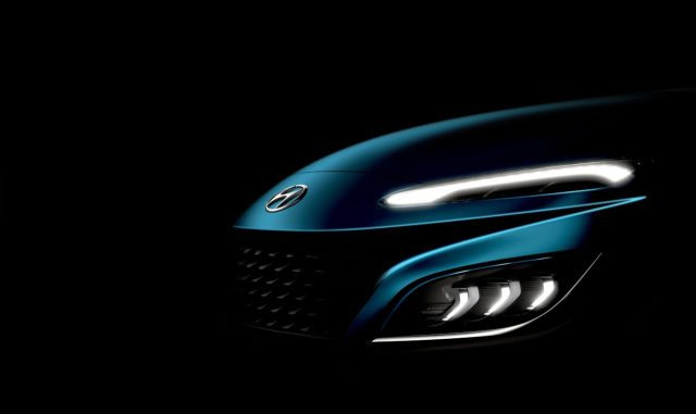 Hyundai kona facelift