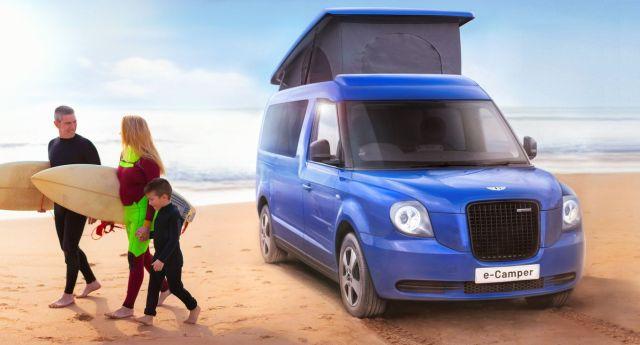Londýnsky taxík ako elektrický karavan? Prečo nie!