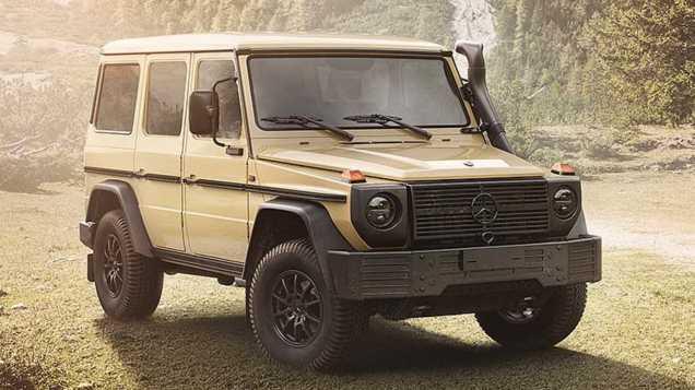 Mercedes-Benz predstavil ultimátnu triedu G určenú pre vojsko