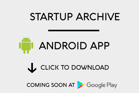 Startup Archive App