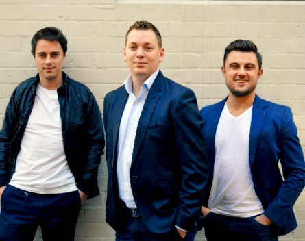 Alphatise founders | Paul Pearson, Richard Frey and Ben Nowlan (departed)