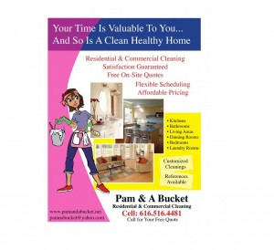 Residential & House Cleaning Business Flyer Examples & Samples