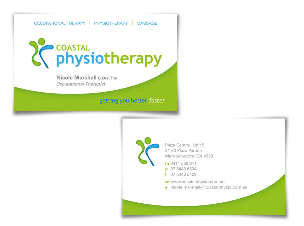 Physiotherapy Business Card Design Ideas  Samples  StartupGuysnet