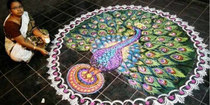 Mangalam Srinivasan kolam