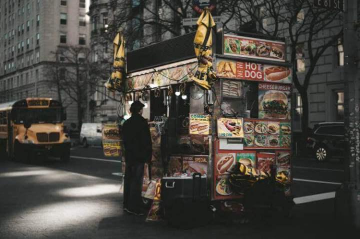 Mobile Food Ventor