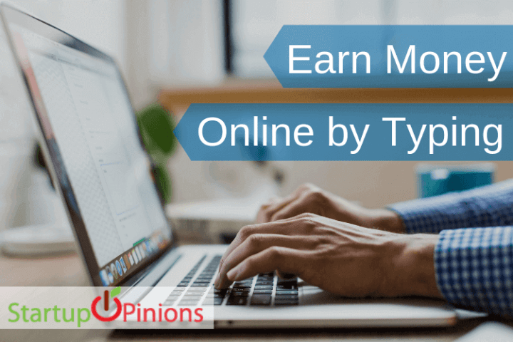 earn money online by typing