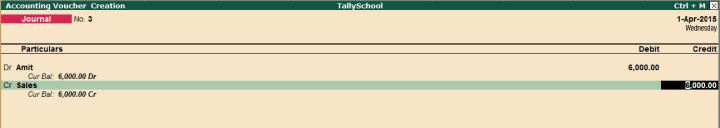 salary entry in tally erp 9