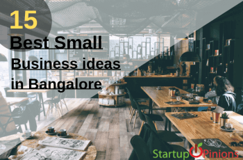 small business ideas in bangalore